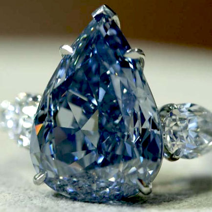 World's most valuable blue diamond