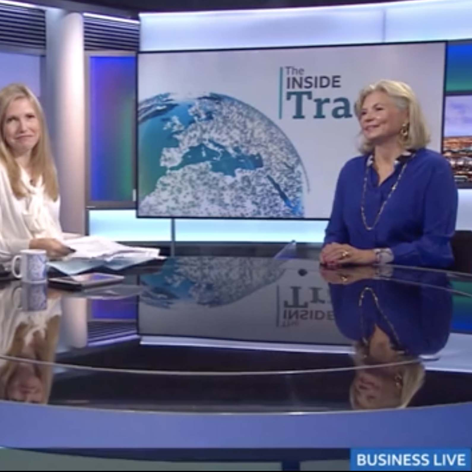 BBC Business Live talks  to The Jewellery Editor