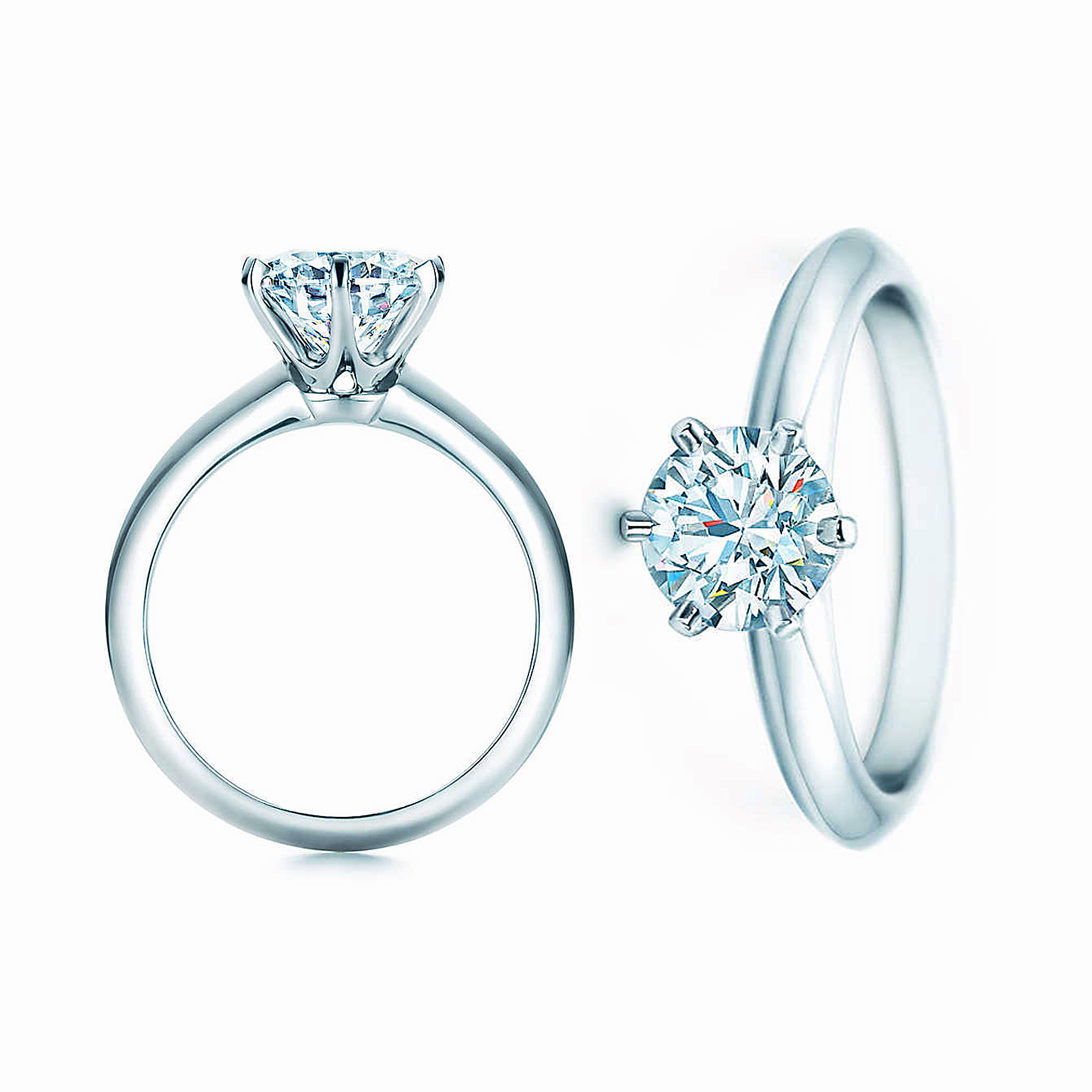 Tiffany Setting Diamond Engagement Ring