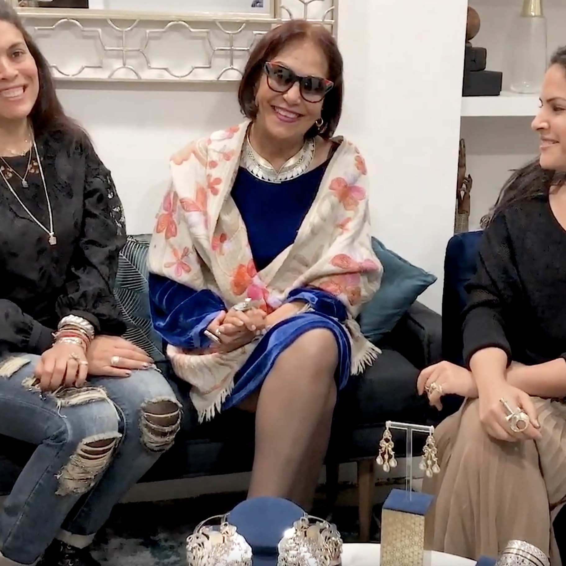 Azza Fahmy interview in London