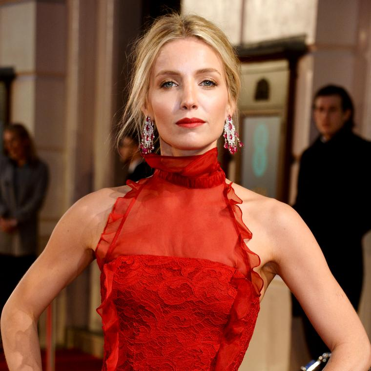 Annabelle Wallis wears Chopard to BAFTAs 2016