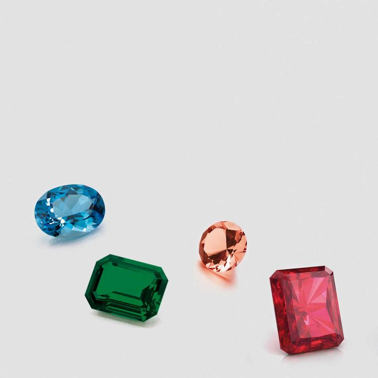 David Jerome Collection coloured gemstones