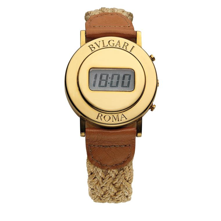 Bulgari watch from the seventies