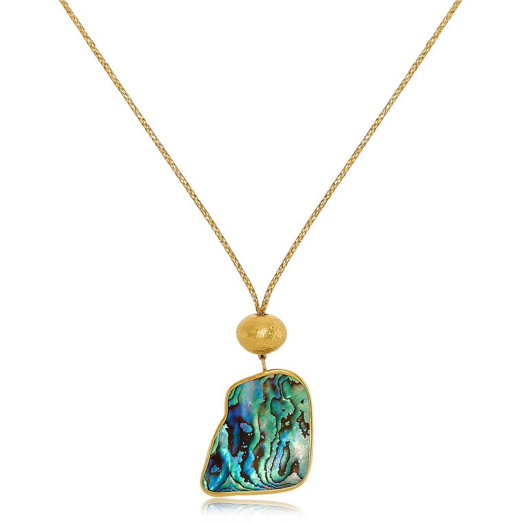 Paua Shell cord necklace Pippa Small