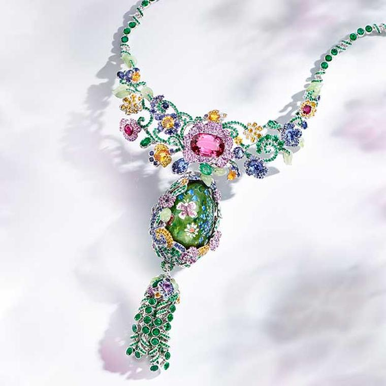 Fabergé Secret Garden necklace