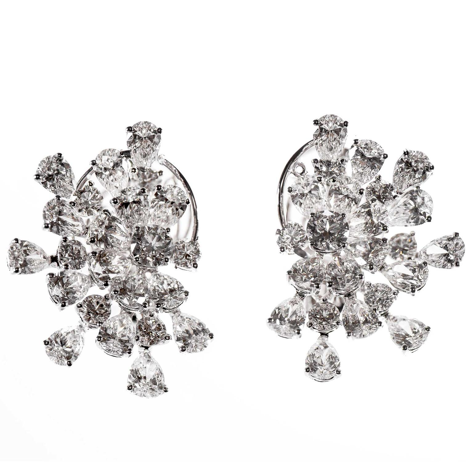 Gismondi Fireworks diamond earrings