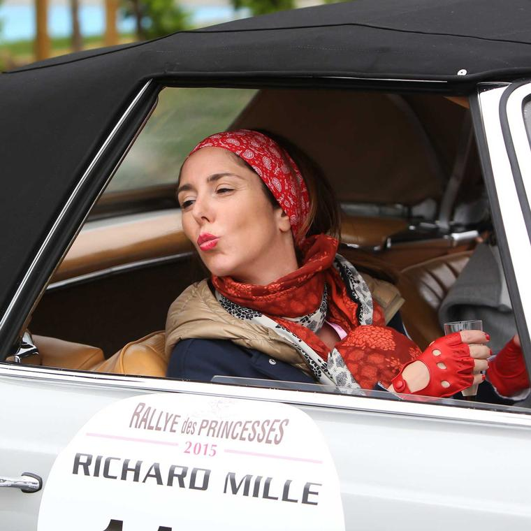 Female driver at Rallye des Princesses, image courtesy of Didier Gourdon