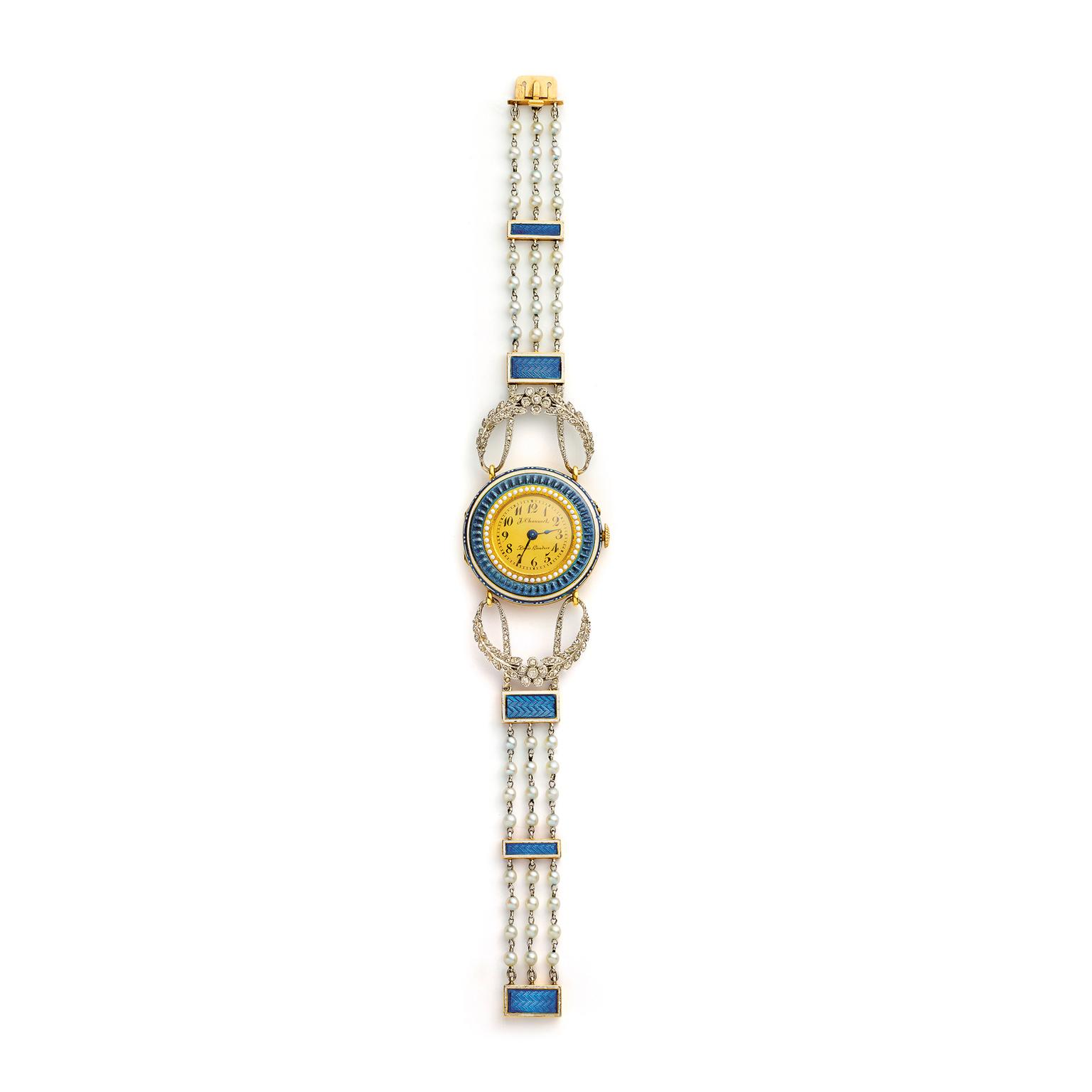 Chaumet forget-me-not watch