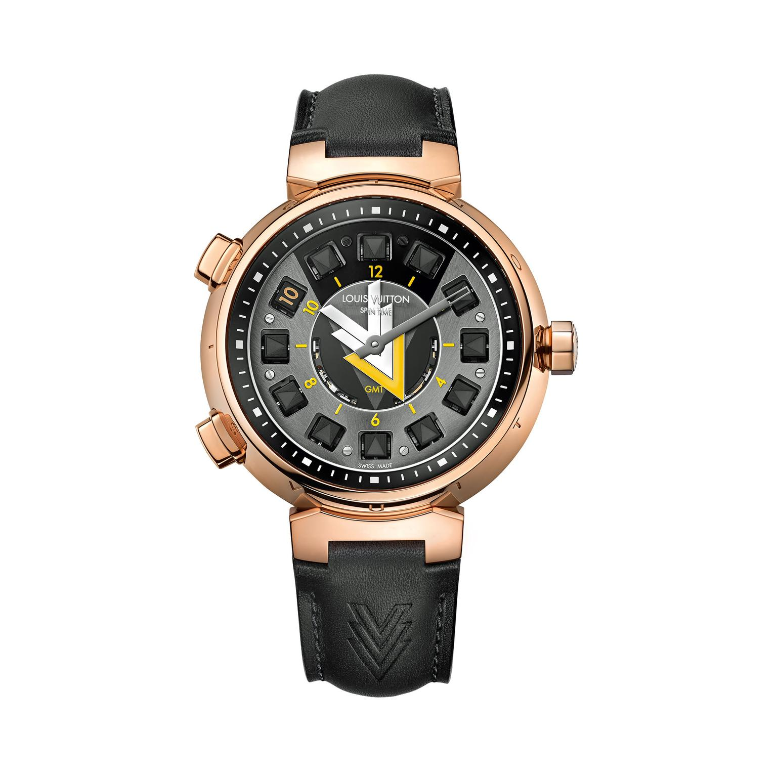 Louis Vuitton Tambour VVV Spin Time