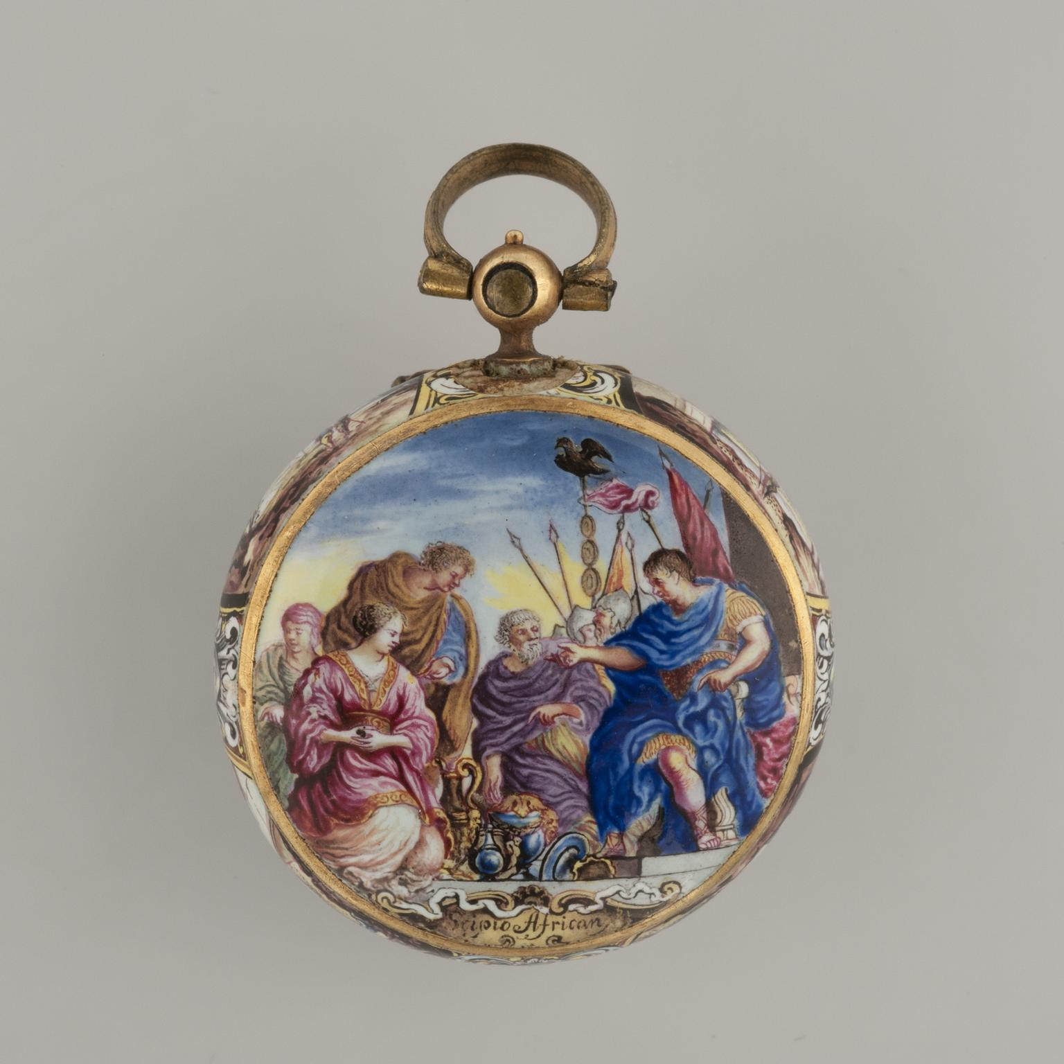 The continence of scipio pocket watch