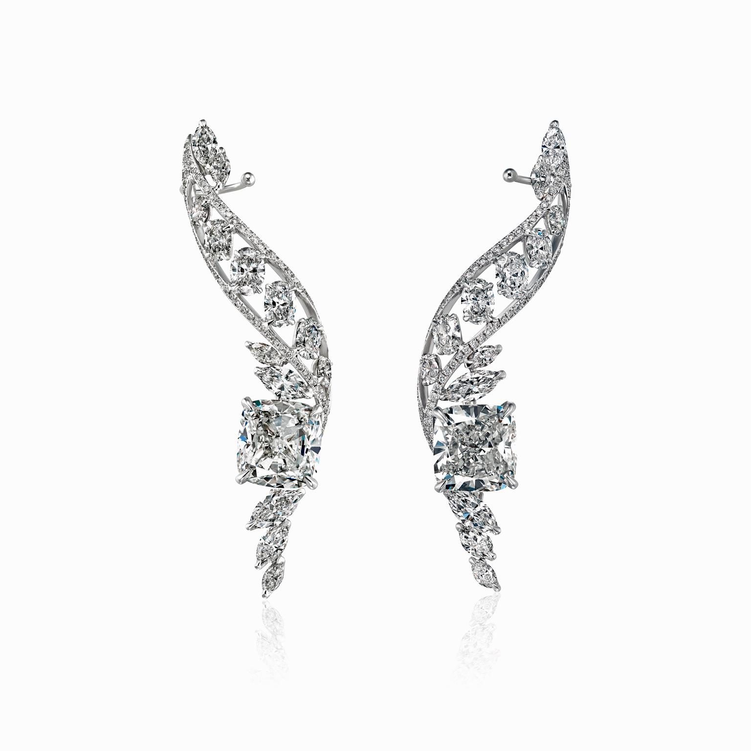 Boghossian diamond earrings