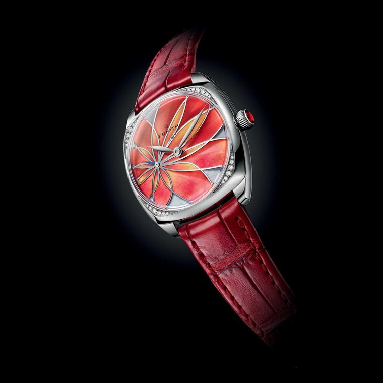 Zenith Star 33mm Orange Flower watch