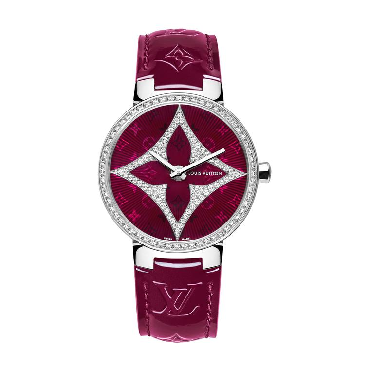 Louis Vuitton Montre Tambour Monogram Star 33mm watch