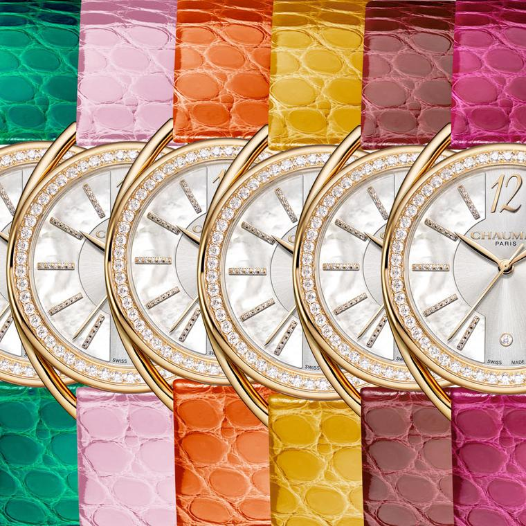Chaumet's Liens Lumière watches radiate light and colour