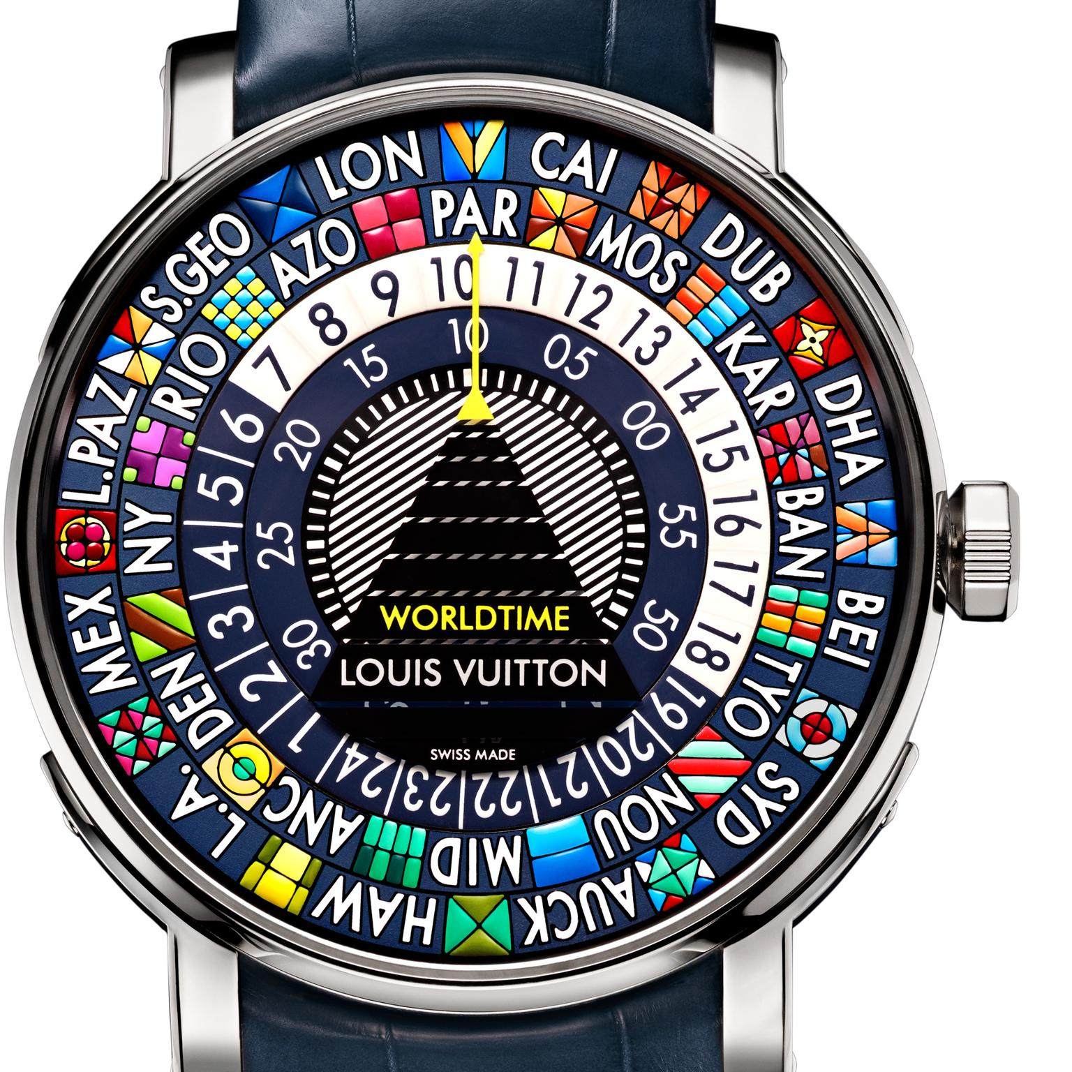 Louis Vuitton Escale Worldtime Blue watch