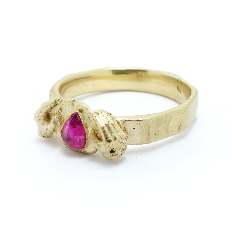 Fraser Hamilton ruby engagement ring
