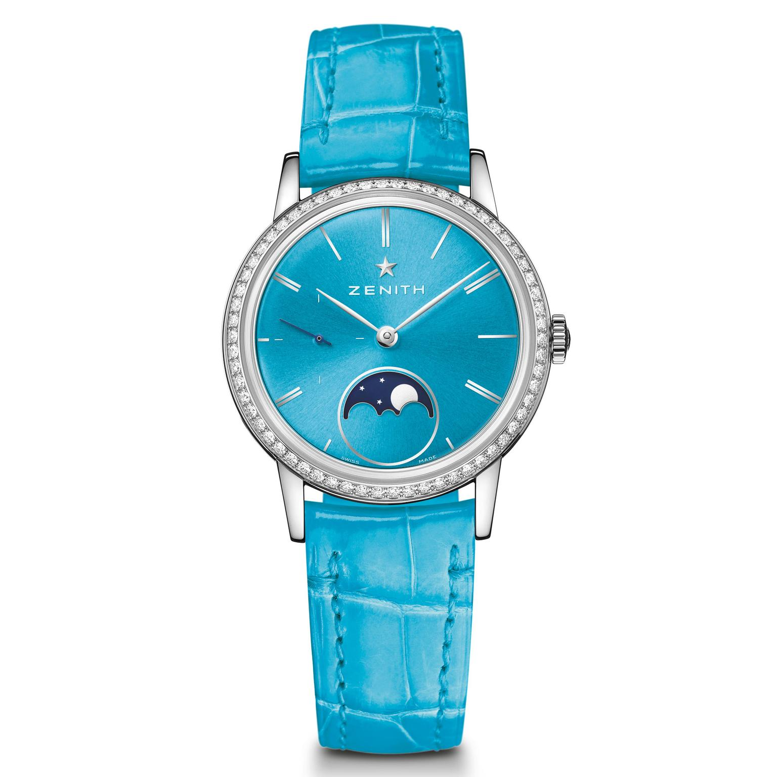Zenith Elite Lady Moonphase turquoise