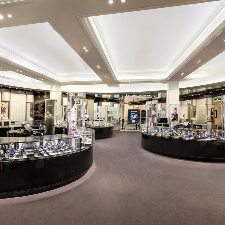 Harrods watch department