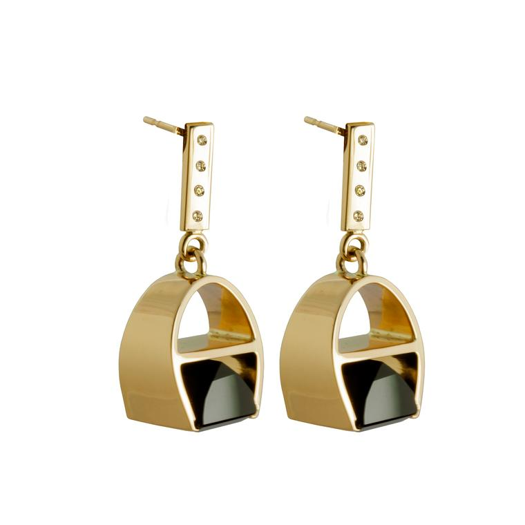 Kattri Parabola earrings