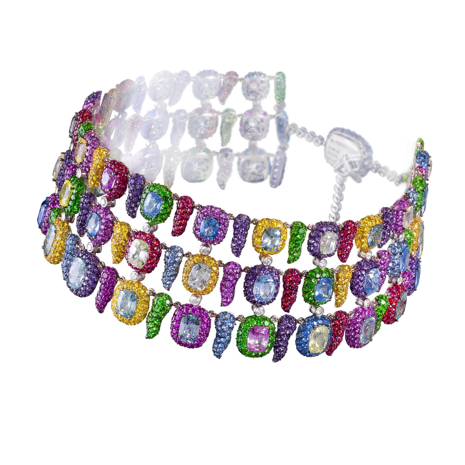 silver m c by product laurenza multicolored topaz gallery mcl accented campbell jewelry lyst matthew l sapphire ring white