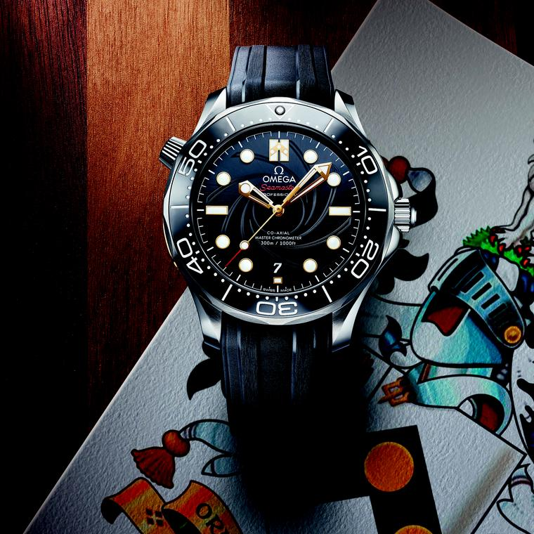 A new Omega Seamaster for die hard fans of James Bond