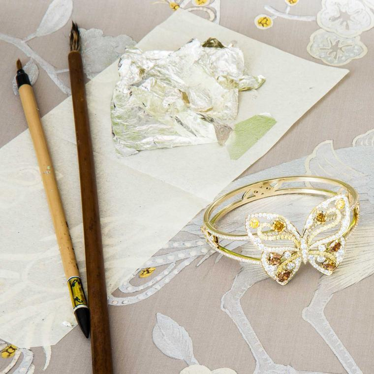 Boodles x deGournay collaboration