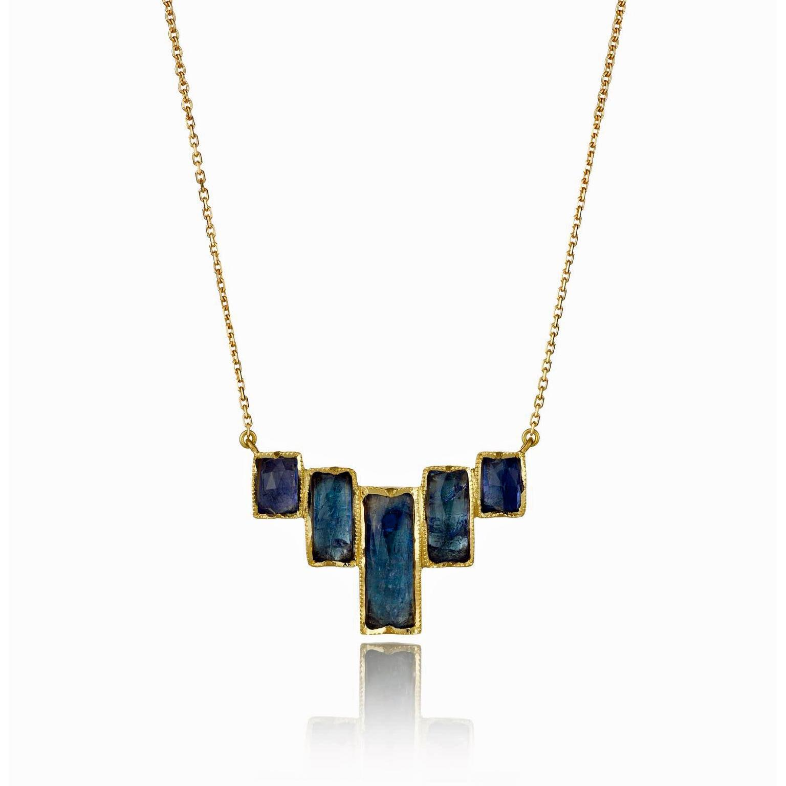 Brooke Gregson tanzanite necklace