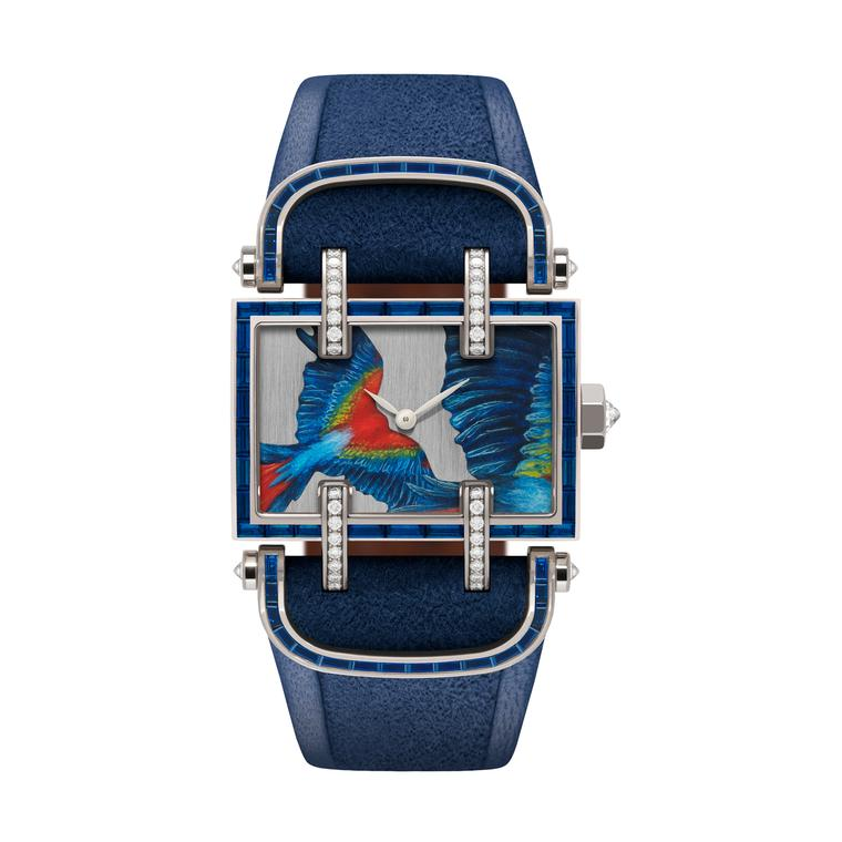 DeLaneau Atame Parrot watch