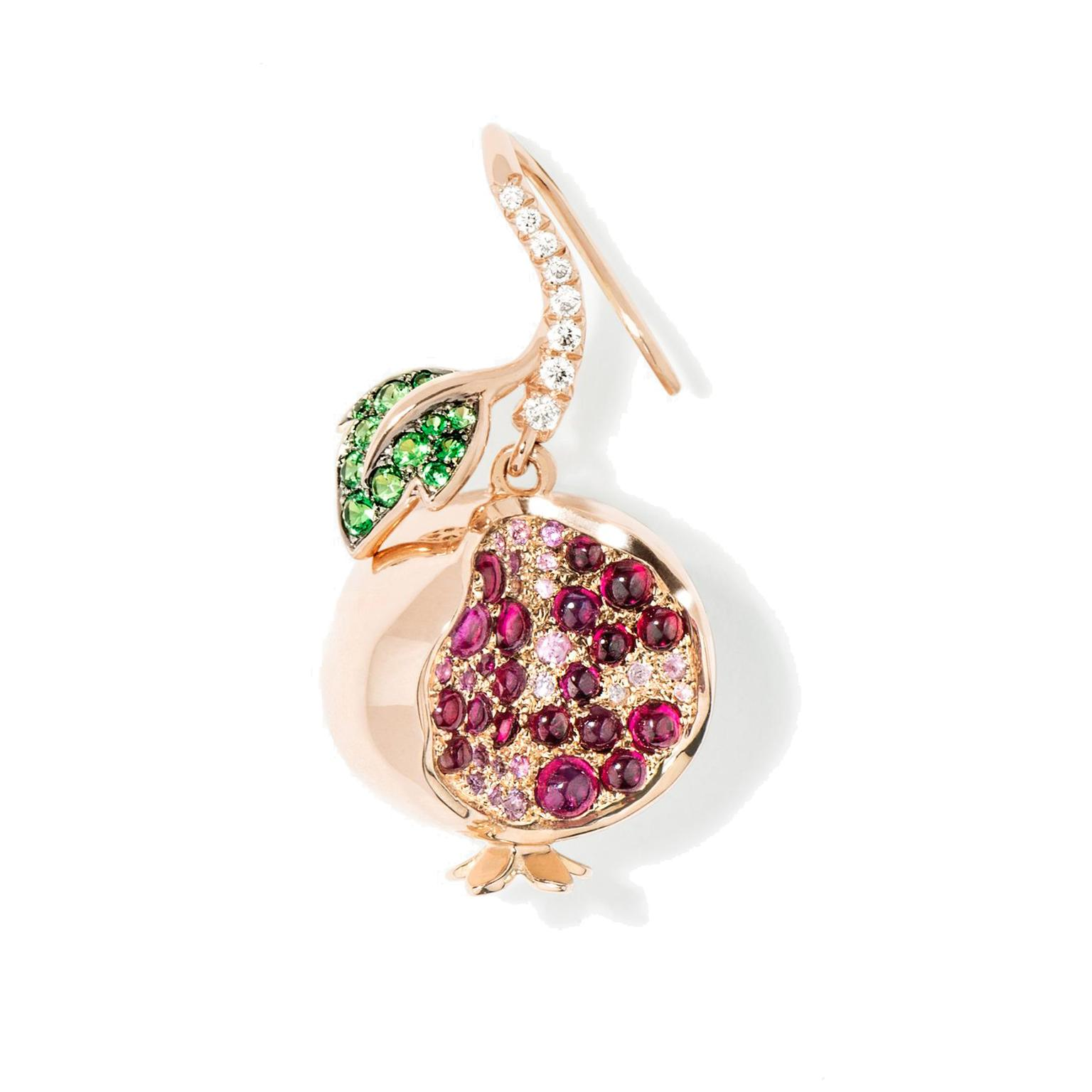 Aurelie Bidermann Pomegranate Keeper earring