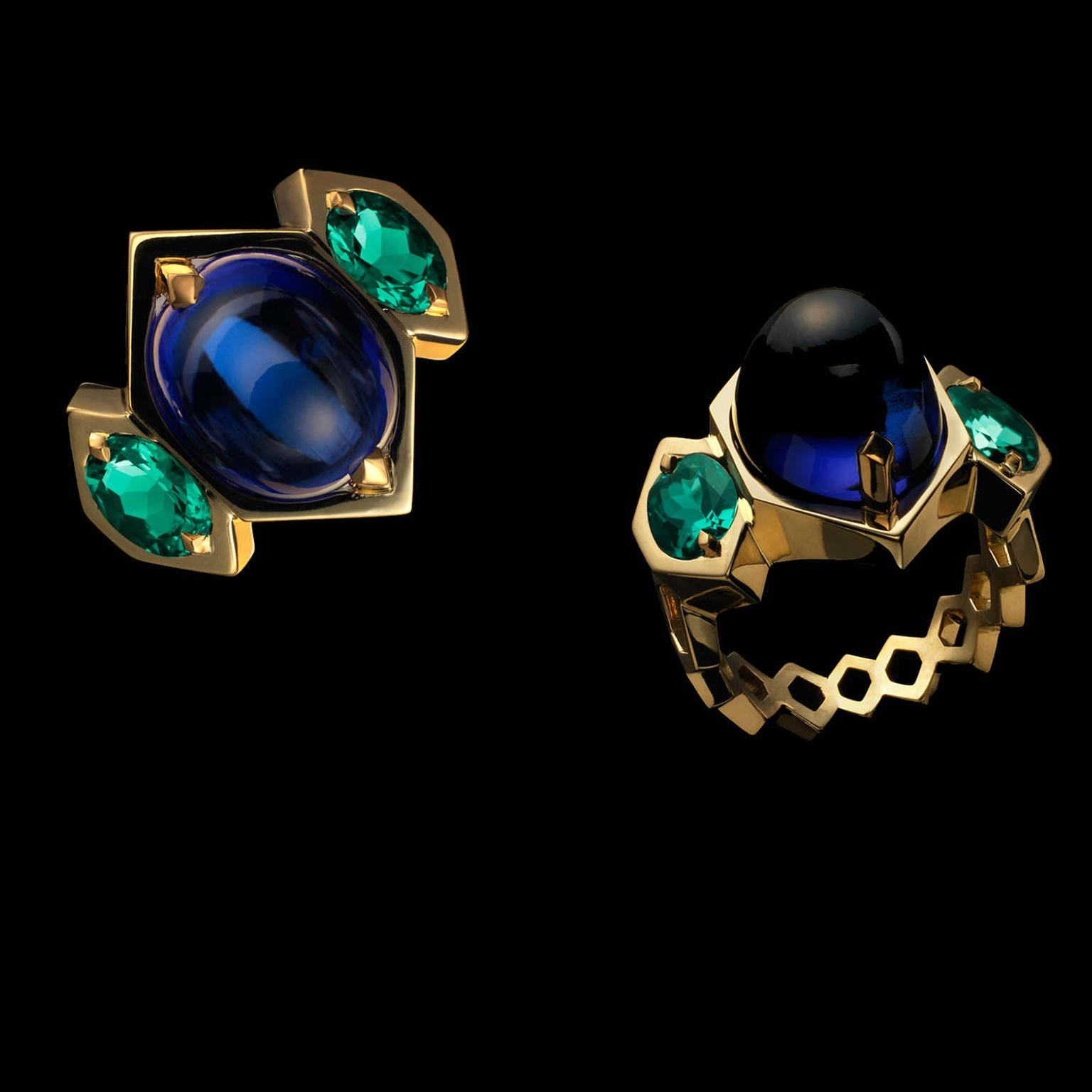 Ben Day Tanzanite and emeralds
