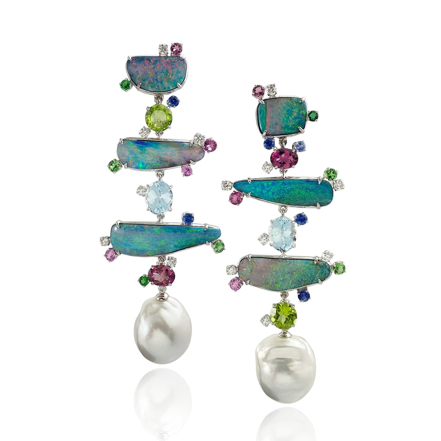 'Totem' Opal earrings from Margot McKinney