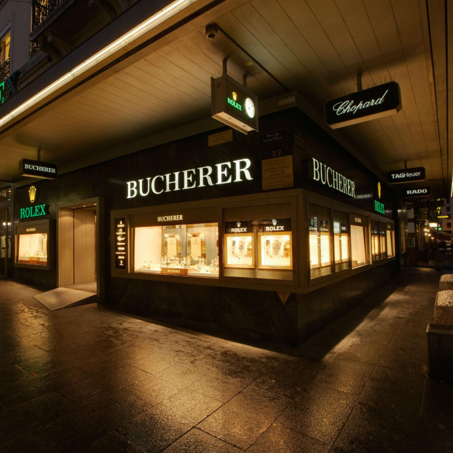 Bucherer boutique in Geneva
