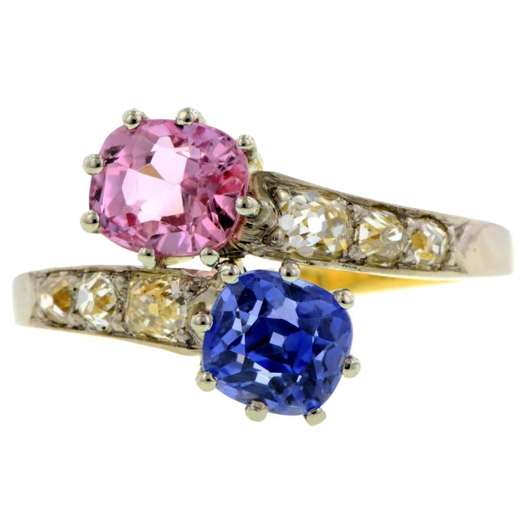 Doyle and Doyle sapphire ring
