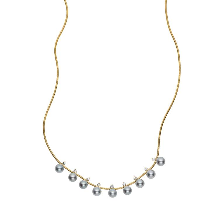 Jemma Wynne Tahitian pearl necklace