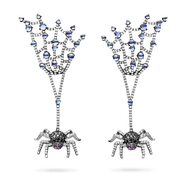 Paul Morelli Spider earrings