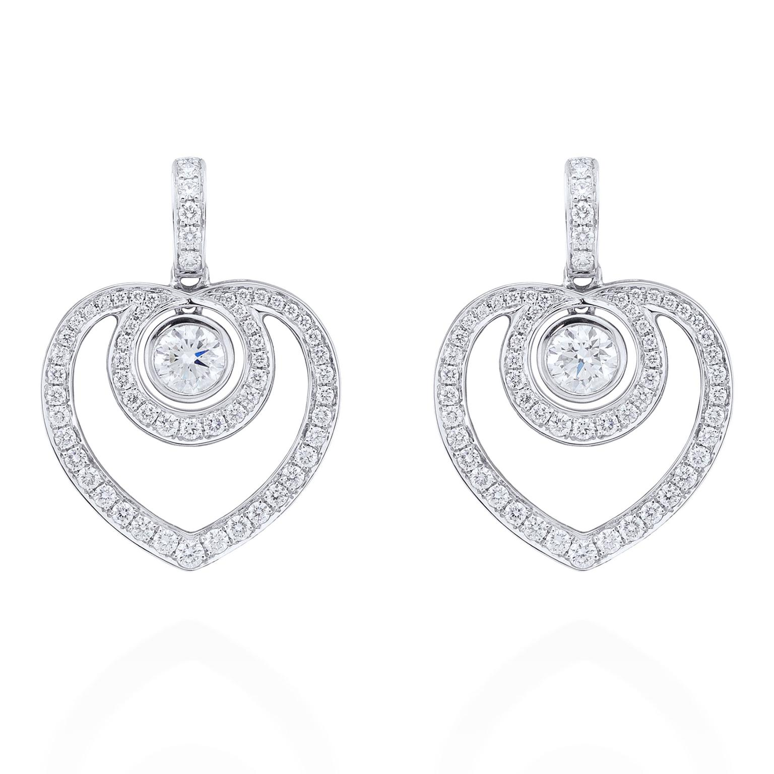 Boodles diamond earrings