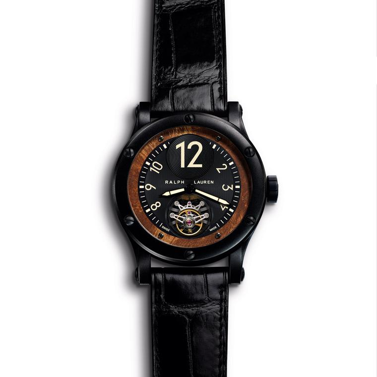 Safari 45mm Flying Tourbillon watch in stainless steel