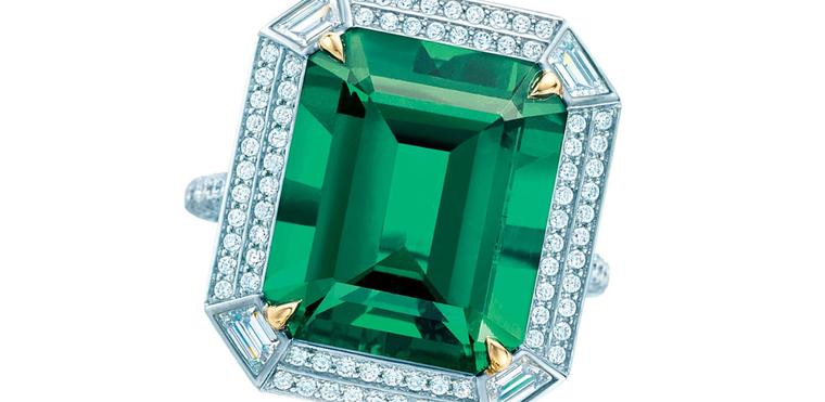 Autumn Emeralds WS Theme Tiffany ring