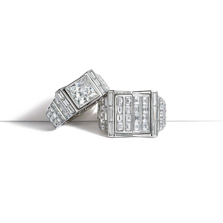 Tiffany Masterpieces diamond rings