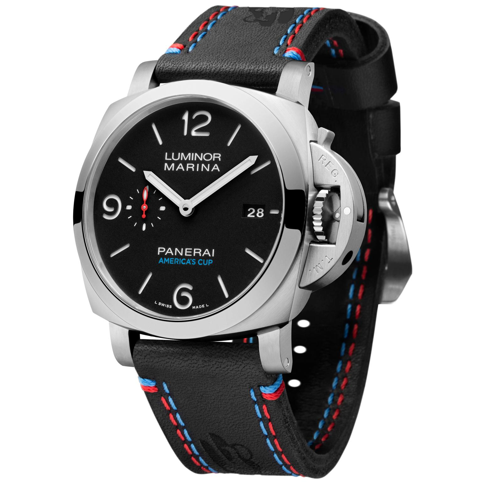 Panerai Luminor Marina 1950 America's Cup 3 Days Automatic Acciaio watch