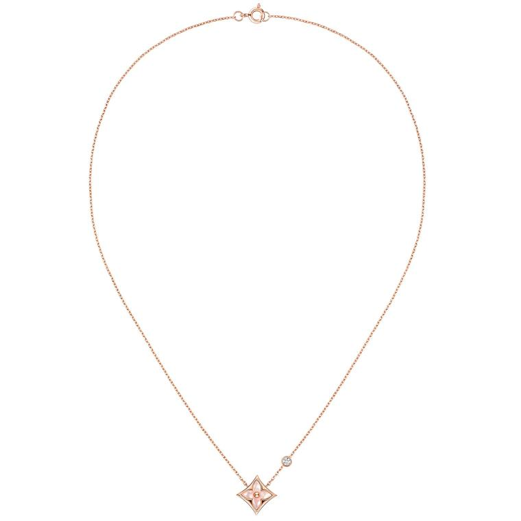 Louis Vuitton Color Blossom BB Star necklace
