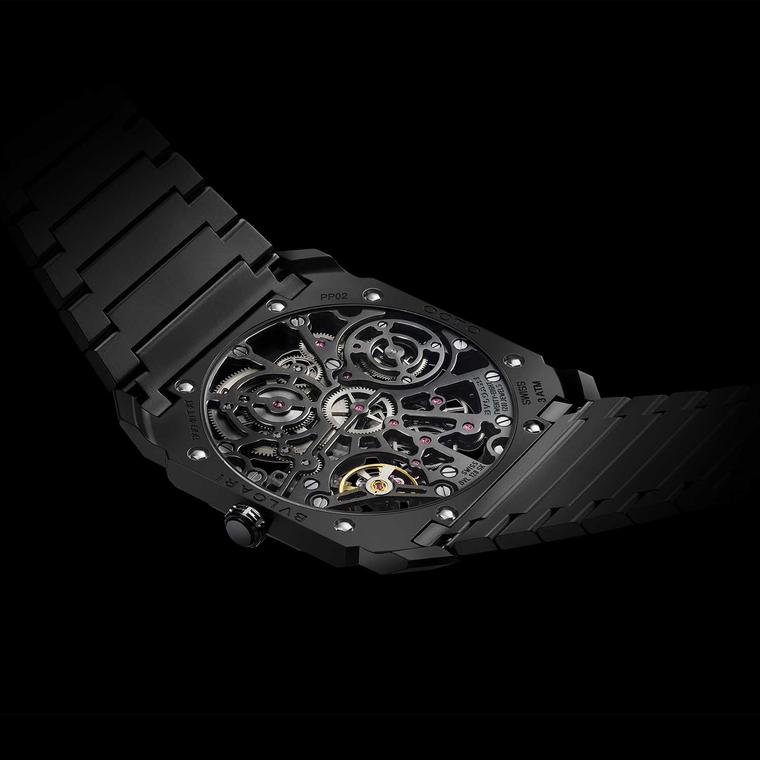 Bulgari Octo Finissimo Skeleton case back