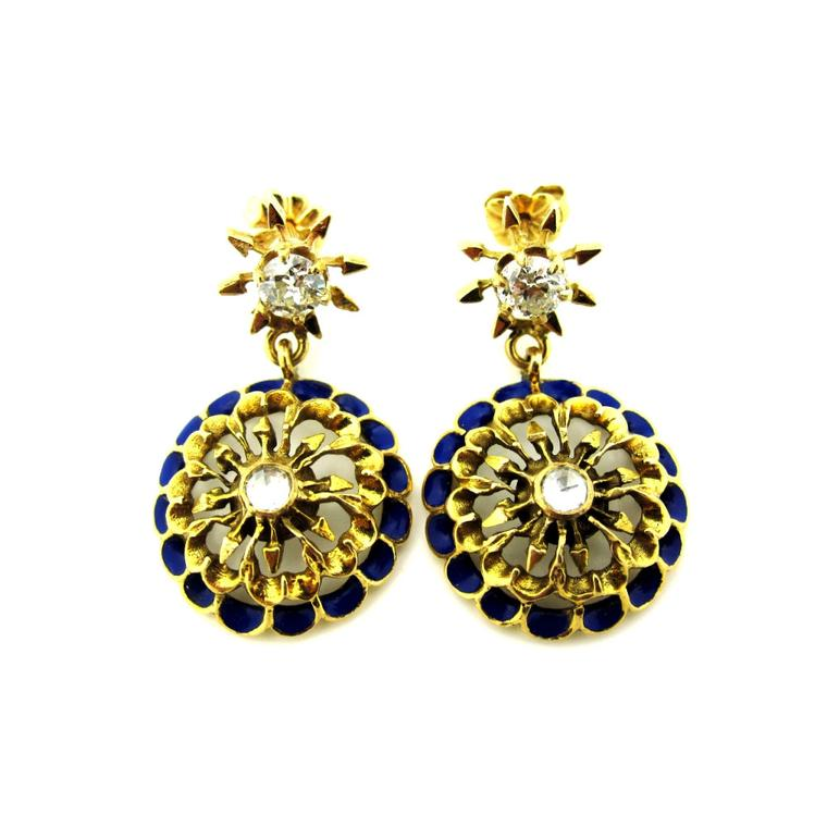 Platt Boutique Jewelry Victorian earrings