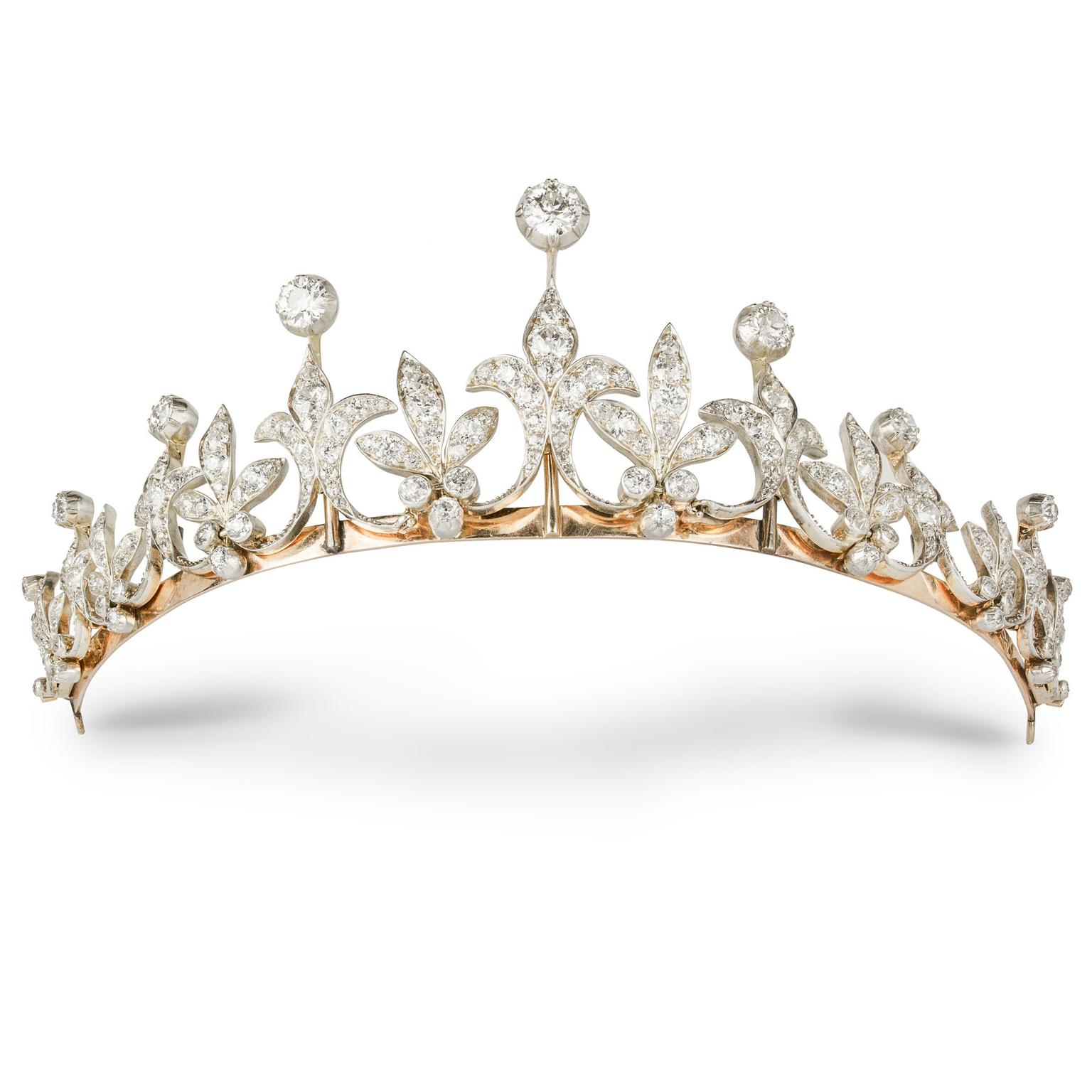 Bentley & Skinner like this American tiara from 1890