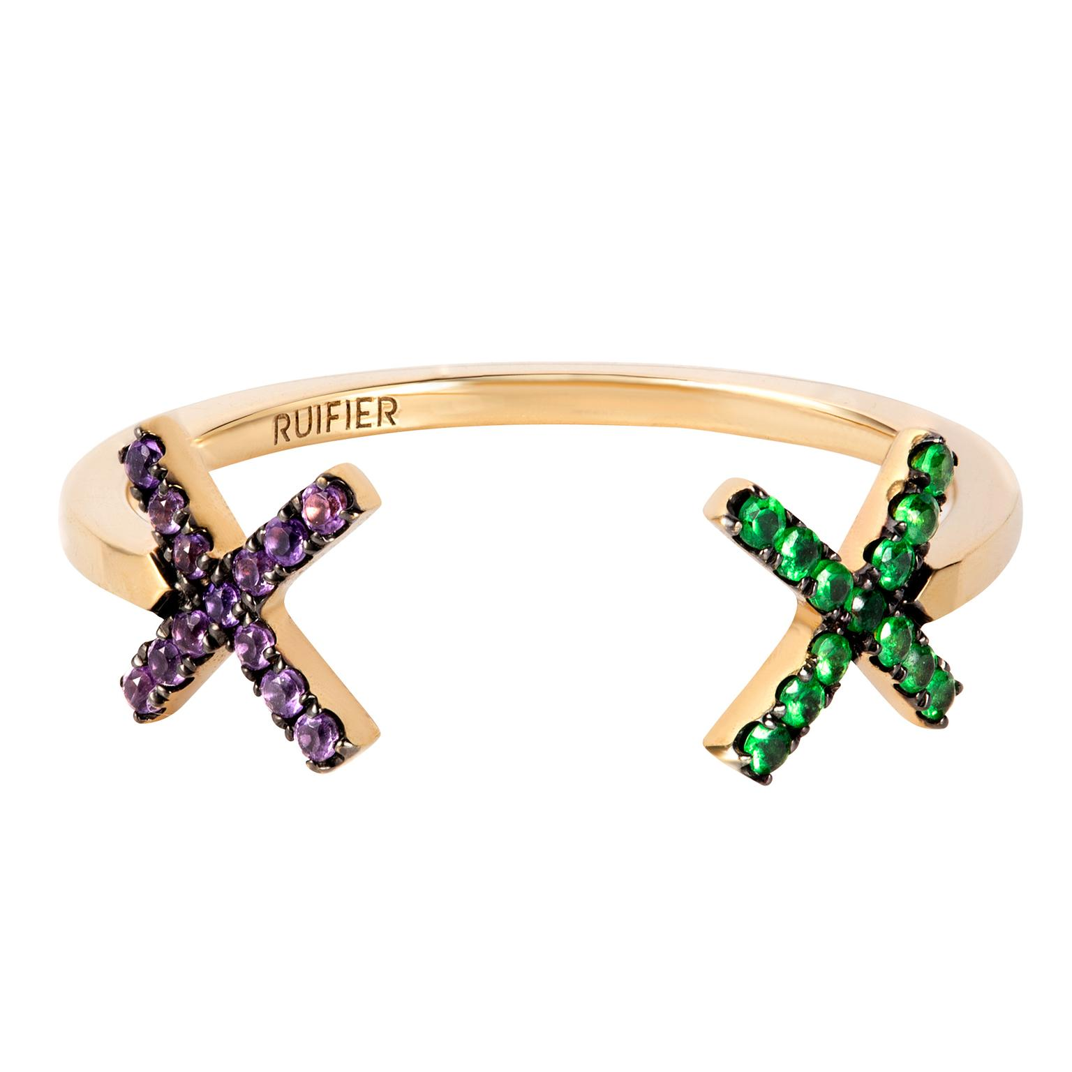 RUIFIER Visage Elements Cross Ring
