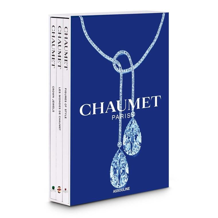 Chaumet box set by Assouline books
