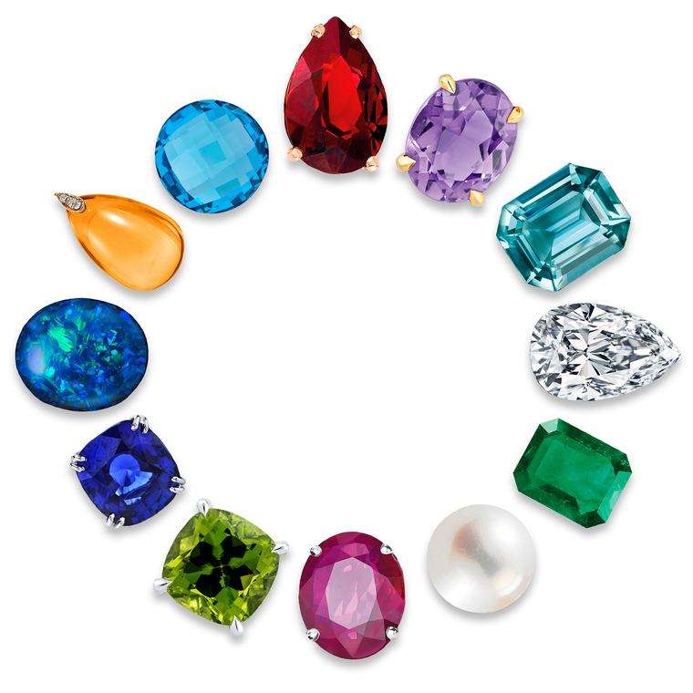 The stories behind birthstones