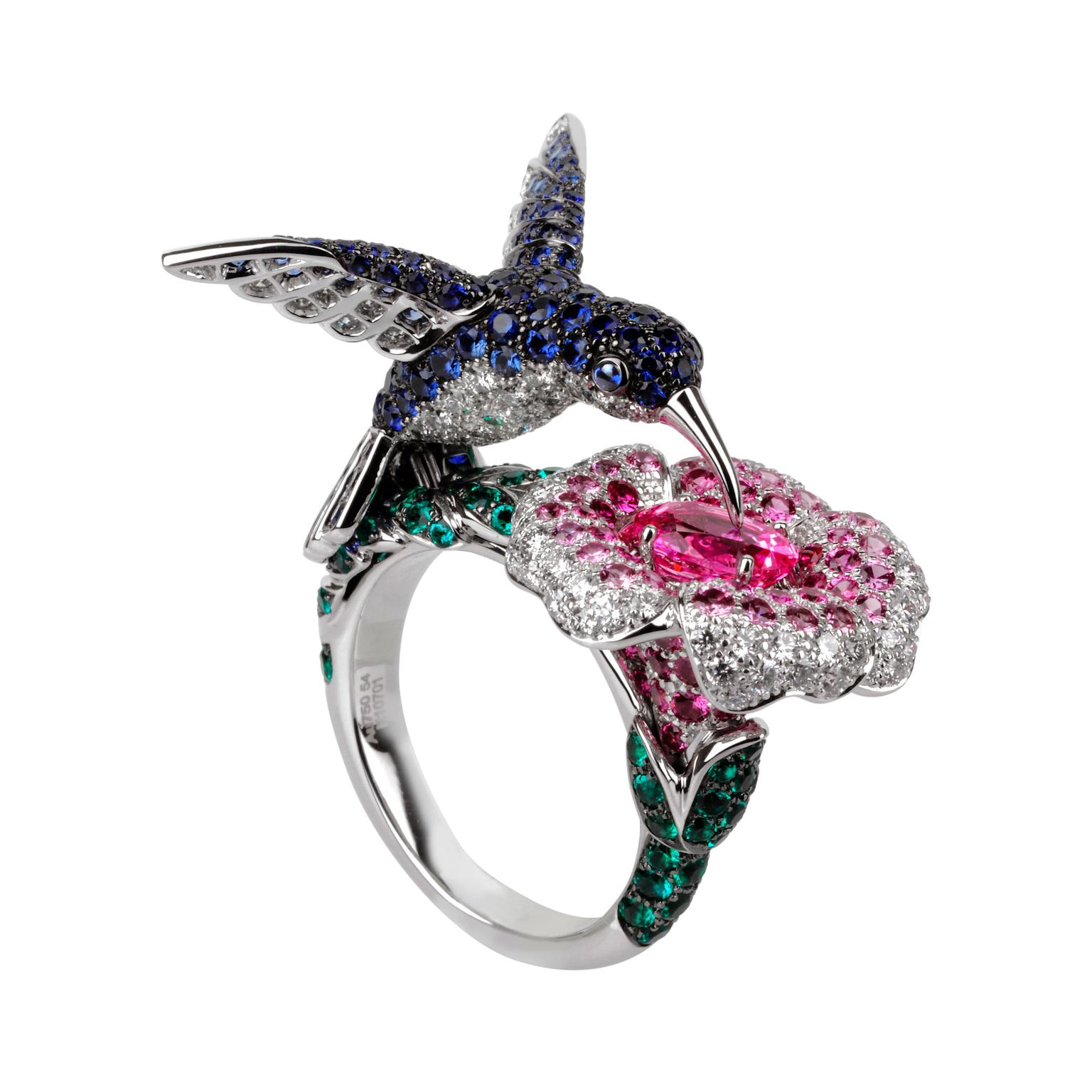 Boucheron Hibiscus ring