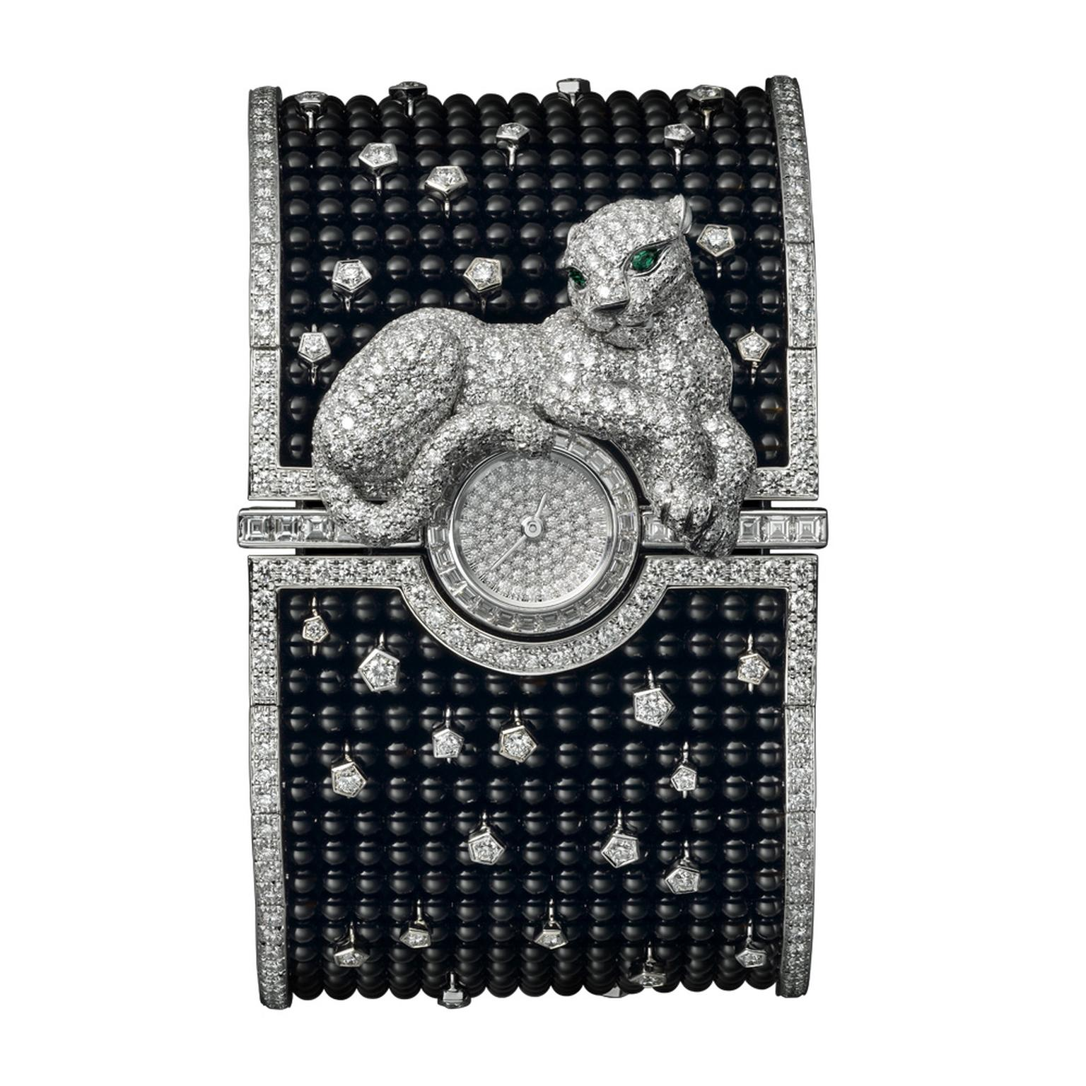 Cartier Panthère Cuff watch