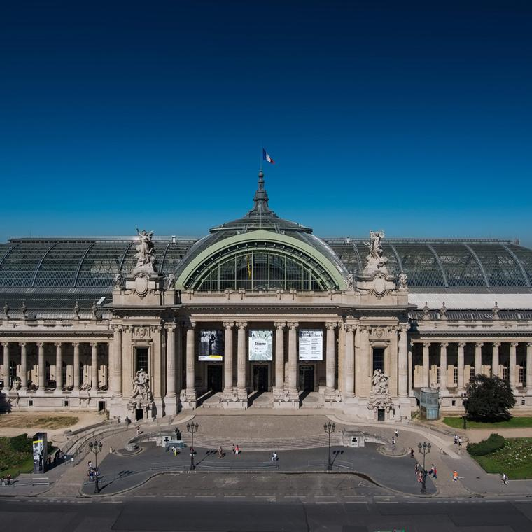 The Grand Palais in Paris